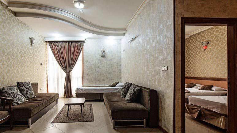 اجاره آپارتمان مبله لوکس در مشهد با امکاناع عالی - 1575