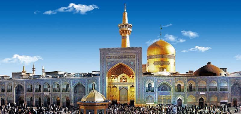 زائر سرای رضوان مشهد مقدس - 1084