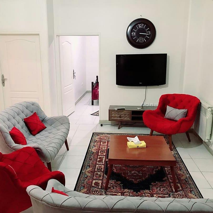 اجاره آپارتمان مبله لوکس در مشهد با ظرفیت 8 نفر - 1649