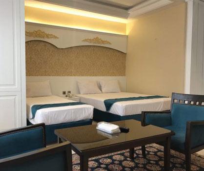 نرخ هتل آپارتمان های مشهد | مشهدسرا